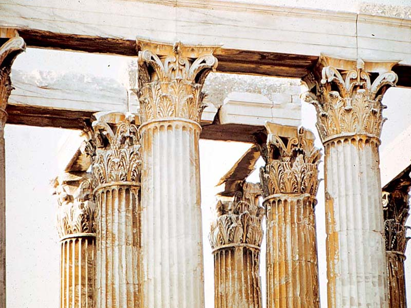 greece wallpaper. arch, Greek, Corinthian